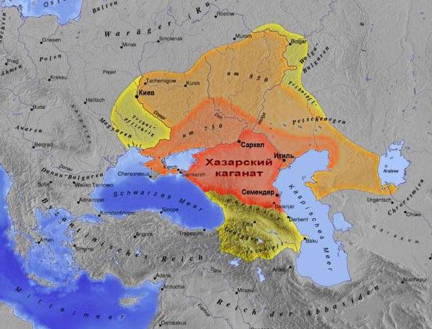 Презентация по кубановедению: расцвет и падение хазарского каганата